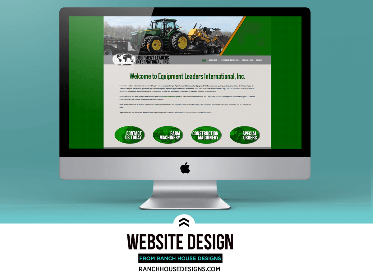 New website equipment leaders international ranch house for Ranch house designs inc