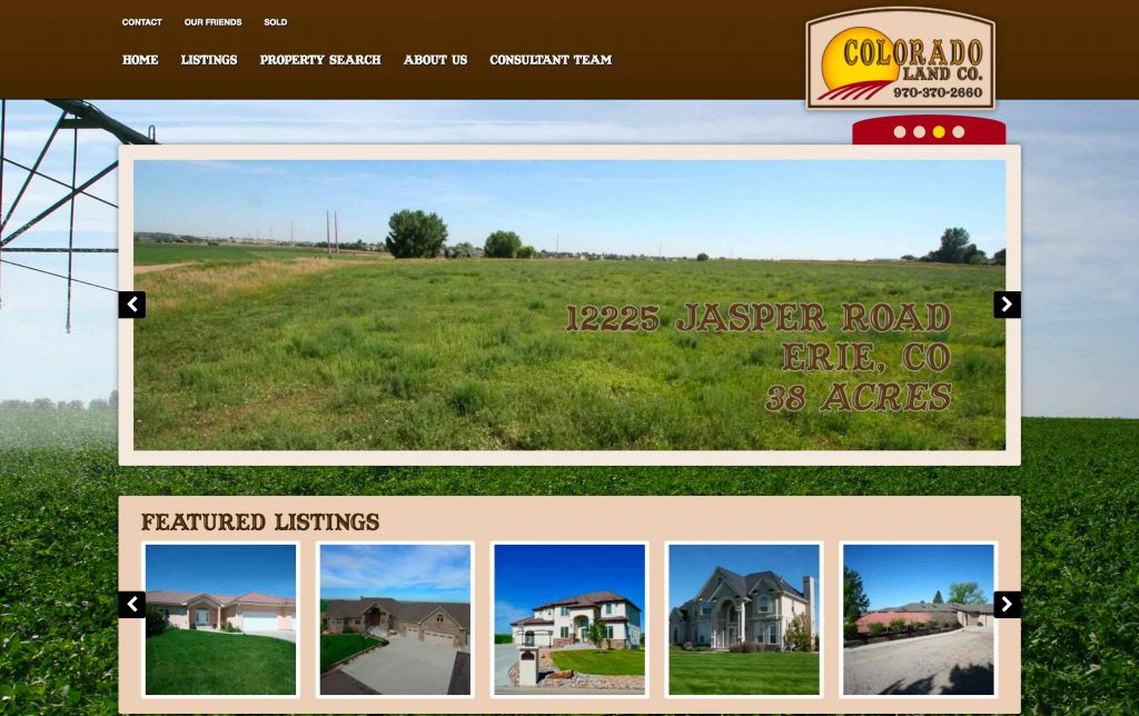 Real estate website design ranch house designs inc Ranch house designs inc