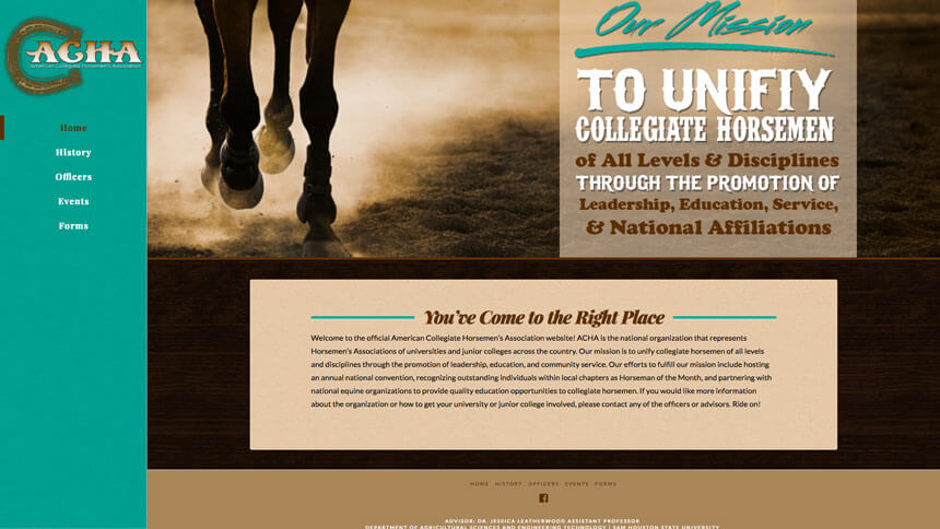 American collegiate horsemen s association ranch house for Ranch house designs inc