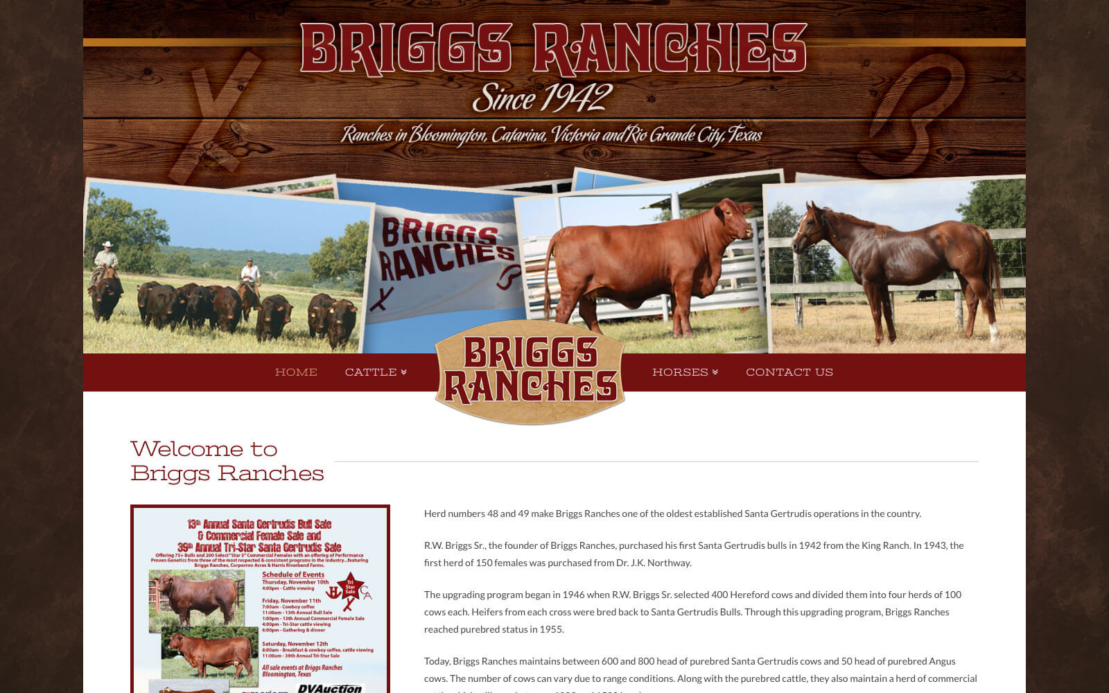 Briggs ranches ranch house designs inc for Ranch house designs inc