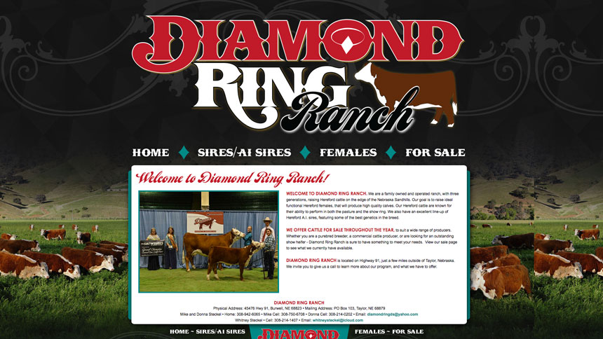 Diamond ring ranch ranch house designs inc - How to get diamonds on design home ...