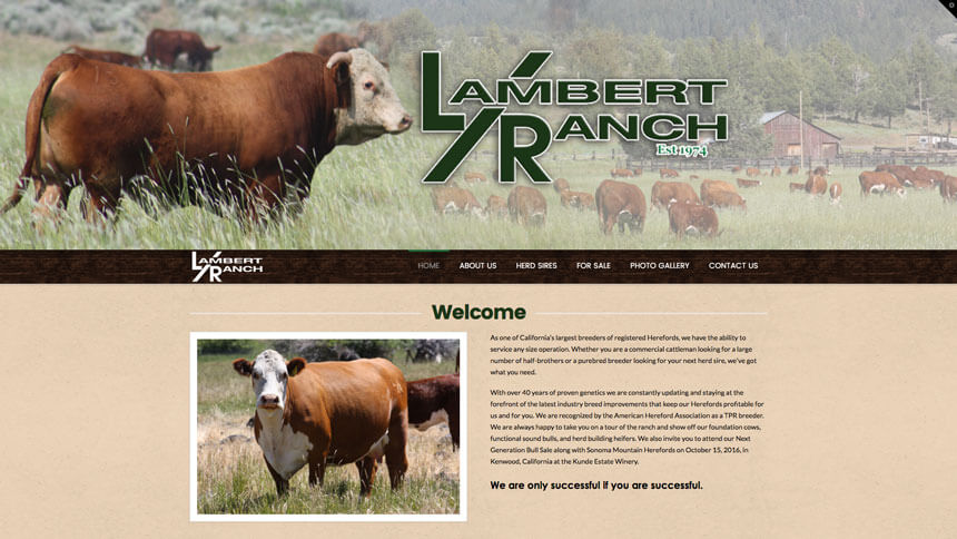 Lambert ranch herefords ranch house designs inc Ranch house designs inc