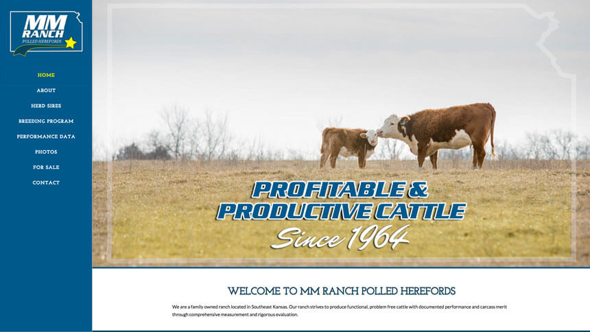 Mm ranch polled herefords ranch house designs inc Ranch house designs inc