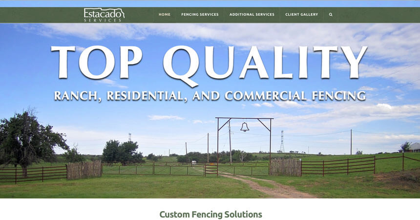 New website estacado services ranch house designs inc Ranch house designs inc