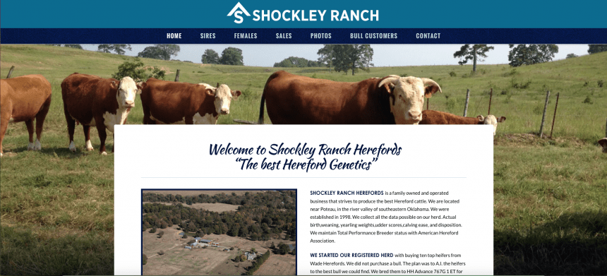 Shockley ranch herefords ranch house designs inc Ranch house designs inc