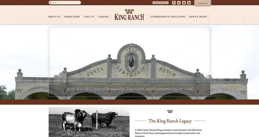 King ranch ranch house designs inc Ranch house designs inc
