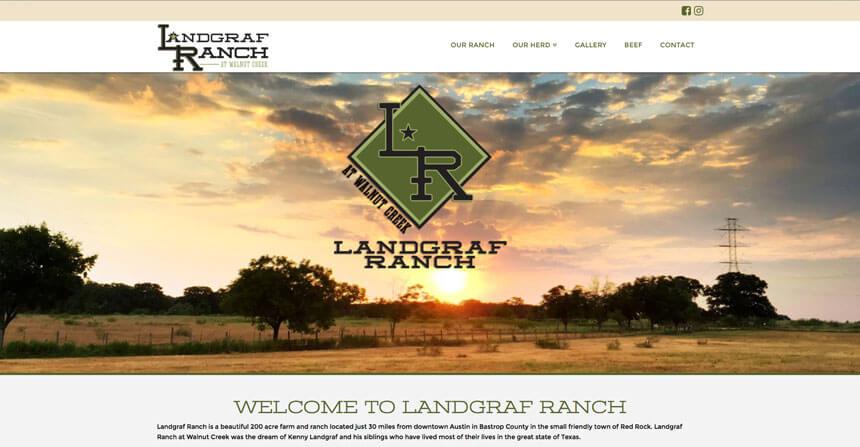 Landgraf Ranch Ranch House Designs Inc
