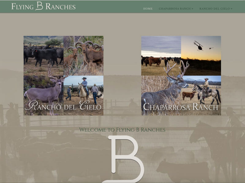 Flying b ranches ranch house designs inc for Ranch house designs inc