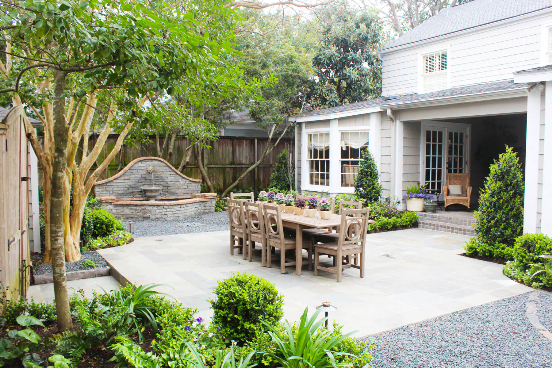 Summer Landscaping Tips with Joby Bonnot - Ranch House ... on ranch home carports, farm patio designs, ranch home modern design, double wide patio designs, ranch home front yard landscaping, stone fireplace patio designs, bi-level patio designs, ranch home pergolas, ranch home garden ideas,