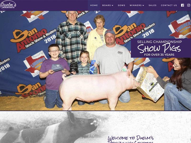 Duelm's Prevailing Genetics - Ranch House Designs, Inc. on pig pool, pig bathroom, bird cage design, crate design, barn design, pig cooking, pig drawing, pig home, pig floor, bbq smoker design, silo design, pig door, pig sofa, pig painting, pig lamps, pig fabric, pig shelter, poultry farm design, pig accessories, pig food,